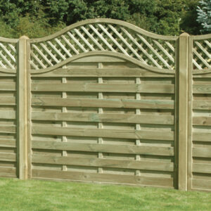 Keynsham Timber & Hardware Trellis Panels Wave Top